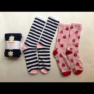 New Gymboree Tight and  Knee Socks L